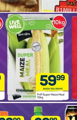PnP maize meal offers at R 59,99