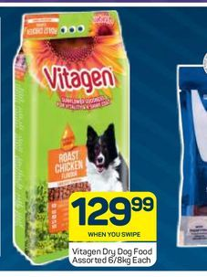 Vitagen Dog Food offers at R 129,99