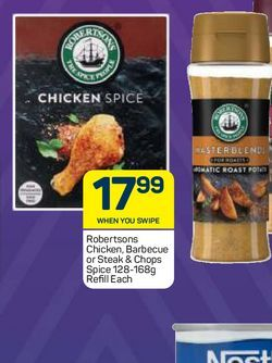 Robertsons Spice Envelopes  offers at R 17,99