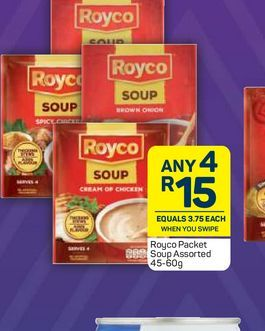 Royco Sauce 4 offers at R 15