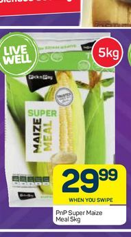 PnP maize meal offers at R 29,99