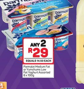 Parmalat Smooth Yoghurt  2 offers at R 29