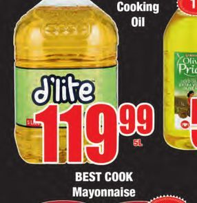 D'Lite Cooking Oil offers at R 119,99