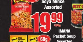 Best Cook soya Mince offers at R 19,99