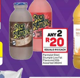 Parmalat Steri Stumpie 2 offers at R 20