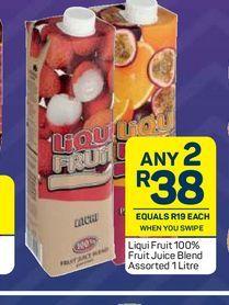 Liqui-Fruit Fruit Juice 2 offers at R 38