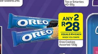 Oreo Biscuits 2 offers at R 28