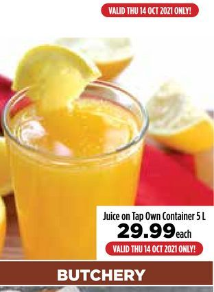Fruit juice offers at R 29,99