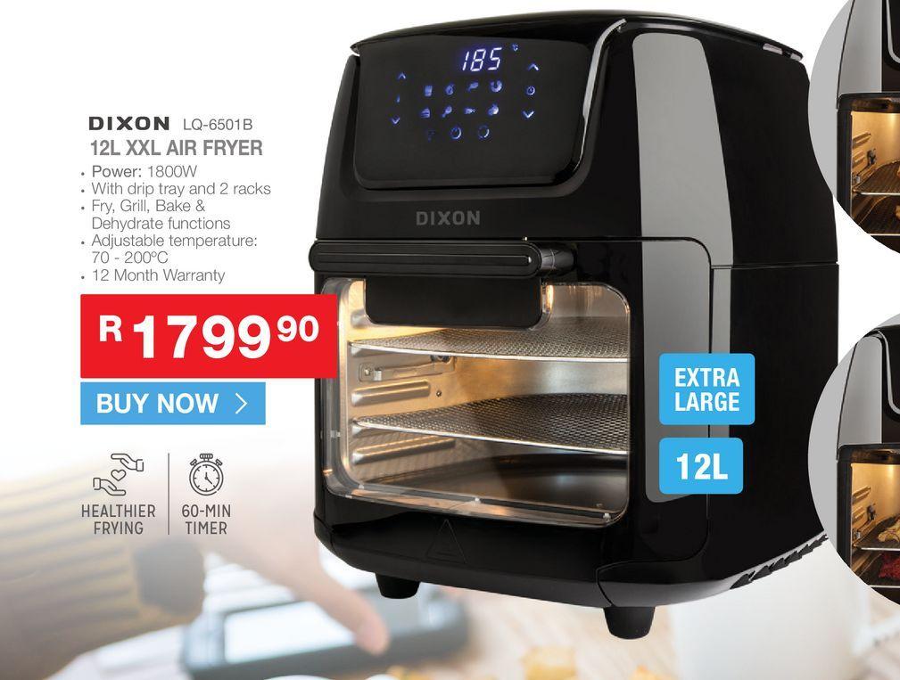 Dixon LQ-6501B Air fryer offers at R 1799,9