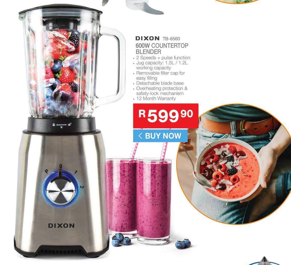 Dixon TVB-6560 countertop blender offers at R 599,9