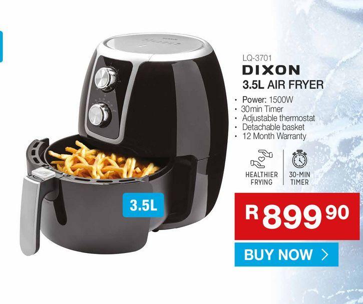 DIXON 3.5L Air Fryer offers at R 899,9