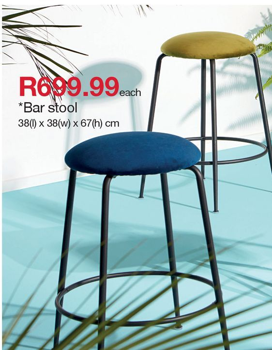 Bar stool offers at R 699,99