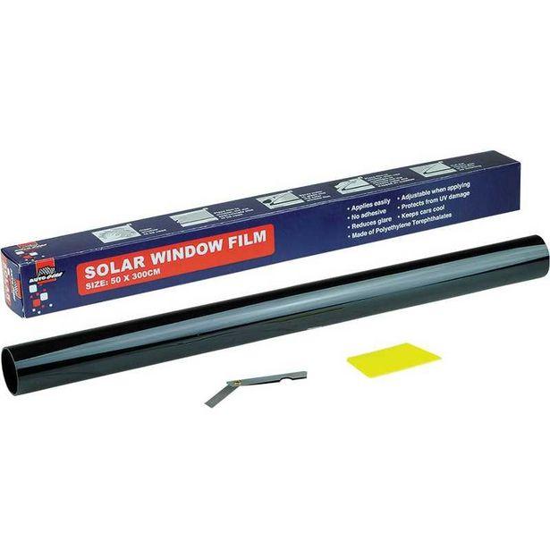 Anti UV and Infrared Window Film - Dark Black offers at R 42