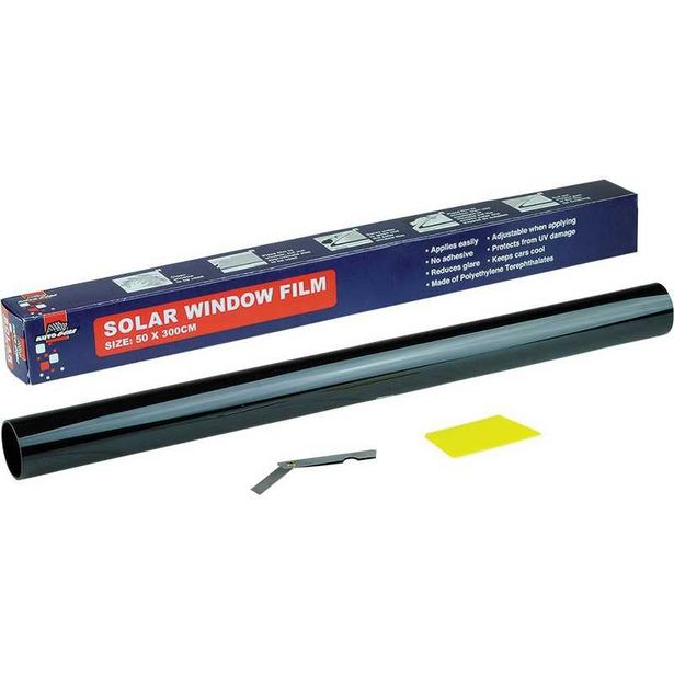Anti UV and Infrared Window Film - Super Dark Black offers at R 42