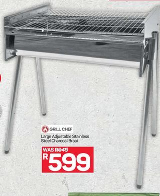 Grill Chef offers at R 599