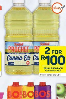 Sunfoil Sunflower Oil 2 offers at R 100