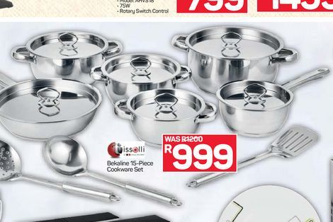 Cookware Set offers at R 999