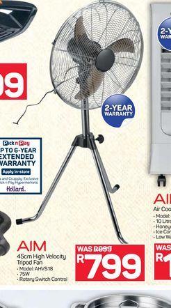 Aim Fan offers at R 799