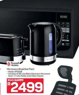 Russell Hobbs Microwave Oven  offers at R 2499