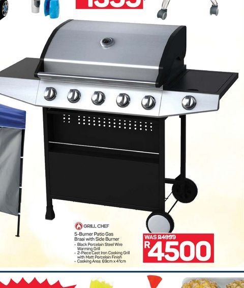 Grill Chef offers at R 4500