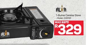 Alva Canister Stove offers at R 329