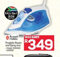 Russell Hobbs Iron  offers at R 349