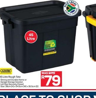 Addis Roughtote  offers at R 79