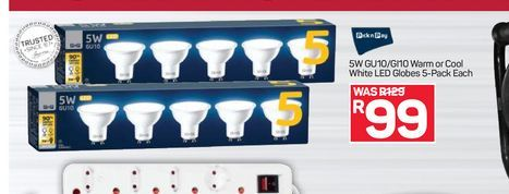 LED lamp offers at R 99