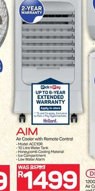 AIM Air Cooler offers at R 1499