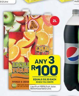 Liqui-Fruit Fruit Juice 3 offers at R 100