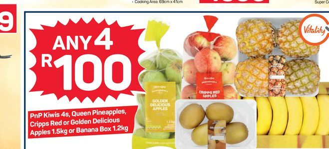Fruit Combo offers at R 100