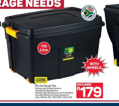 Addis Roughtote  offers at R 179