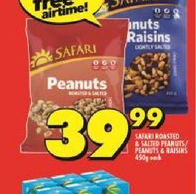Safari Peanuts  offers at R 39,99