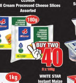 Clover Cheese 2 offers at R 40