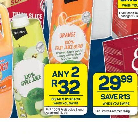 PnP Fruit juice 2 offers at R 32
