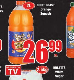Fruit Blast orange juice offers at R 26,99