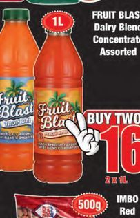 Fruit Blast Concentrate 2 offers at R 16