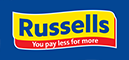 Info and trading hours of Russells store on Shop no 77 market street