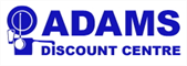 Logo Adams Discount Centre